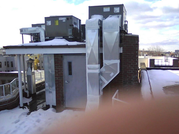 Rooftop HVAC Unit